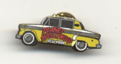 Planet Hollywood New York Taxi City Pin