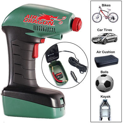 Air Dragon As Seen on TV Portable Air Compressor Emergency automatically Stops