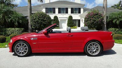2002 Bmw M3 M3 Power Both Hard And Soft Tops 2002 Bmw M3 With Removable Hard Top And Power Soft Top 2 Owner Fla. Car