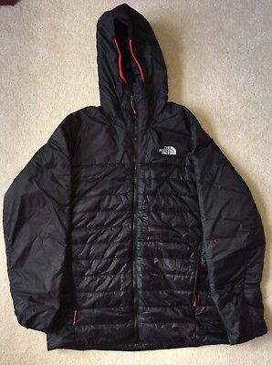 The North Face Men's Thermoball Hooded Jacket -black large