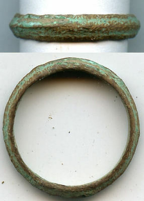Excellent Ancient Celtic finger ring (size ~8 1/2), 800-500 BC, Danube Area