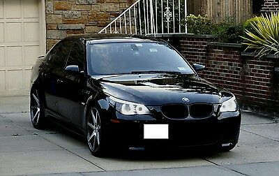 2008 BMW M5 Black Sapphire Metalic w. Available Extended Warranty 2008 BMW M5 BLACK EXTENDED WARRANTY