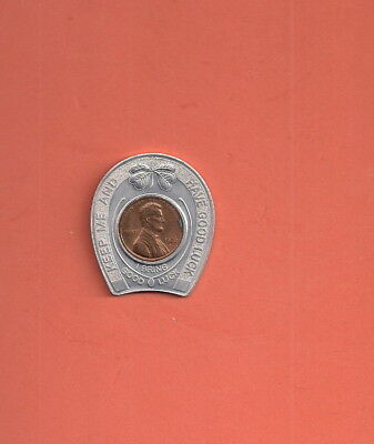 Encased Lucky Penny Vigortone Ag Products 60 Yrs Service Agriculture Advert.