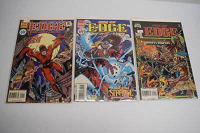 Lot of 3 Over the Edge and Under a Buck Marvel Comics #1 #2 #9 Ghostrider