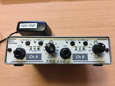 FMR RNP8380 Really Nice Preamp