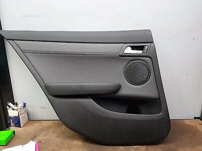 Holden Ve Commodore International Sedan Leather Left Hand Rear Door Card Tc :51I