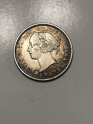 1870 Canada 10 Cents