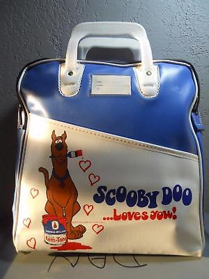 Very Rare Scooby Doo Sherwin Williams Paint Advertising Travel Bag Nos