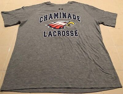 Under Armour Men's Short Sleeve Chaminade Athletic Grey T-Shirt (Sz. Medium)