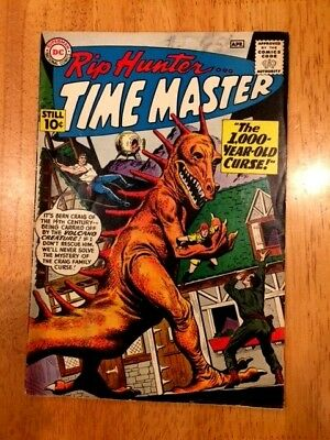RIP HUNTER TIME MASTER #'s 1 & 2 (Apr & June 1961 DC) 1st 2 Issues of S.A. Title