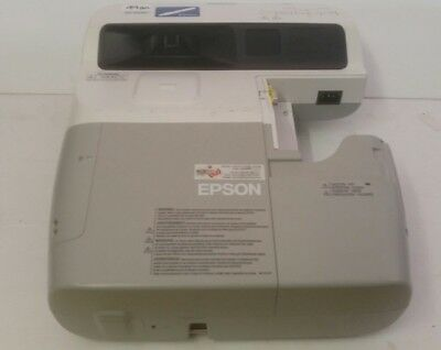 EPSON EB-455Wi INTERACTIVE SHORT THROW 3LCD PROJECTOR 49 HRS LAMP USE P1