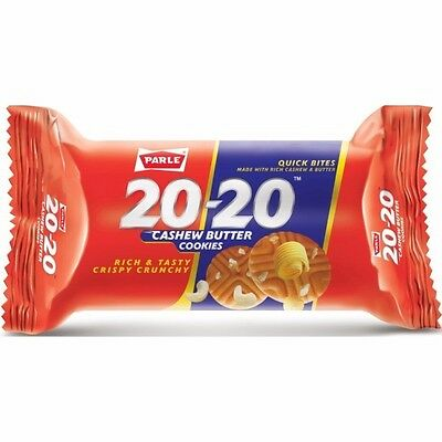 Parle 20-20 Biscuits Butter Cookies, (Pack Of 12)*