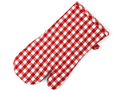 NEW Rans Red Gingham Oven Glove
