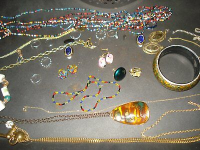 vintage jewellery bulk mix 1900-1970s estate