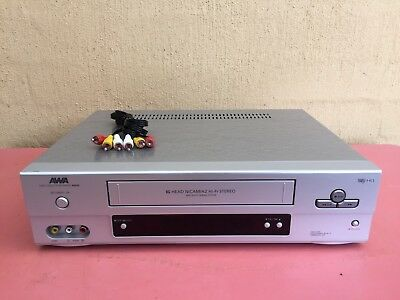 Serviced AWA W800 Stereo Video Recorder Player No REMOTE VHS Player VCR