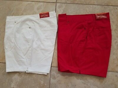 Faded Glory Womans Plus Shorts NWT New