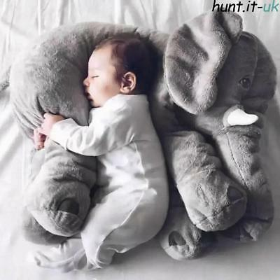Children Kids Large Size Elephant Doll Soft Plush Toys Stuff Lumbar Pillow Large