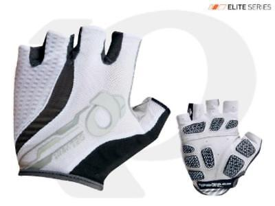 Pearl Izumi Elite Gel Vent Short Finger Gloves 14141307 WHITE Sizes S M L XL XXL