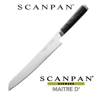 "Scanpan Maitre D' 23cm / 9"" Bread Knife 100% Genuine! 18522"