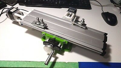 Cnc Cross Slide Compound Xy Milling Table Nema17 Stepper Motors Hobby Arduino