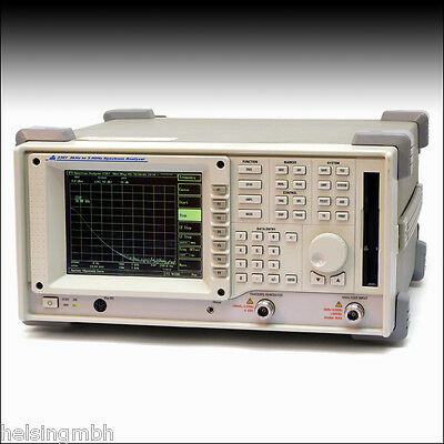 IFR, Aeroflex, 2397 mit Optionen, Spektrum Analysator, Spectrum Analyzer, tested