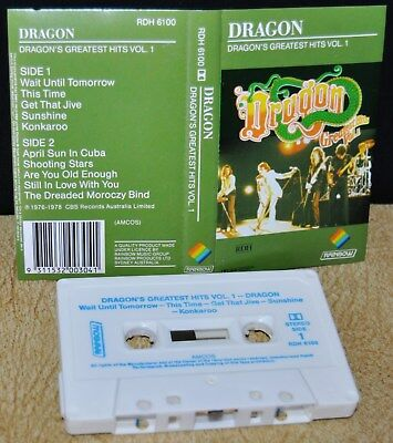 DRAGON'S GREATEST HITS VOL. 1                                    Cassette Tape