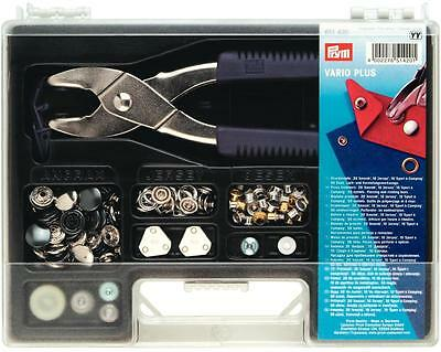 Prym Vario Plus pinze Bottoni assortimento VALIGETTA PERFORATORE 651420