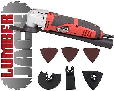 Oscillating Electric Multi Function Tool Saw Sander Cutter Scraper & Grinder