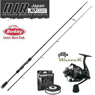 Berkley Air Spinning 902S M + Fox Warrior 2500 + Spiderwire