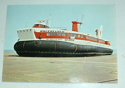 1970s GIANT POSTCARD HOVERLLOYD HOVERCRAFT GH-2054 Publicity photo for the compa