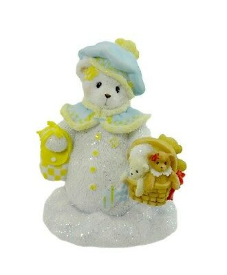 NIB Cherished Teddies GEORGINA There's Snow Bear Like You 4002842 Snowbear