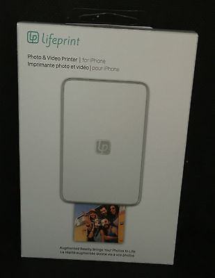Lifeprint Photo & Video Printer for iPhone LP001-1