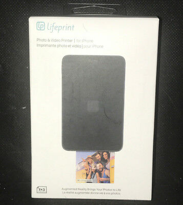Lifeprint Photo & Video Printer for iPhone LP001-2 - BLACK
