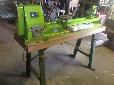 Wood Lathe And Tools
