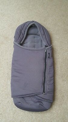 iCandy Raspberry Cosy Toes/ Footmuff in Grey. Fab condition