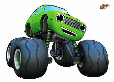 Unofficial PICKLE! - BLAZE AND THE MONSTER MACHINES (6) *Glossy* A4 print Poster