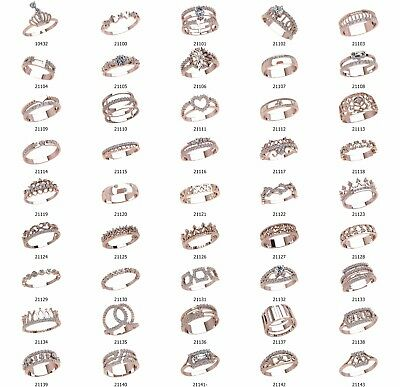 set of WAX PATTERNS (#w22) for Lost Wax Casting silver or gold Jewelry (45 pcs)
