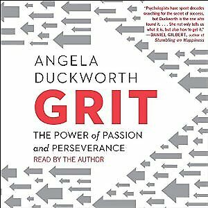 Grit: The Power of Passion and Perseverance by Angela Duckworth(AUDIO BOOK)