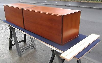 Vintage Repolished Teak Tapley Bureau & 3 Drawer Chest      Delivery Available