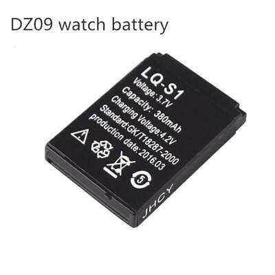 New 380mAh 3.7V Rechargeable Li-ion polymer battery For DZ09 Smart Watch