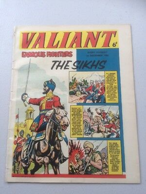 Valiant Comic 1st December 1962
