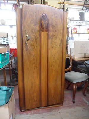 antique art deco gents small fitted wardrobe kids re polish shabby chic upcycle