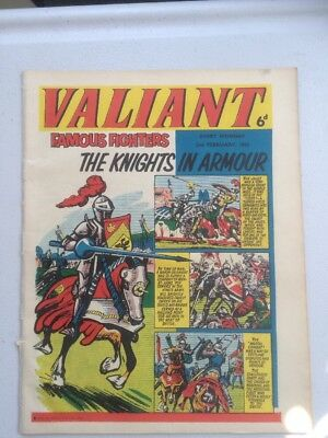 Valiant Comic 2nd February 1963 Kellogg's Yogi Bear Badge Advert + Bubbly Ad