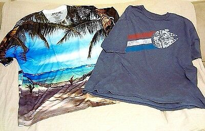 Lot Of 2 Men's Size 2Xl Tee Shirts-Star Wars Get A Life