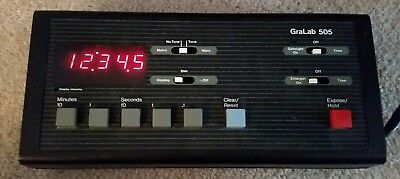 GraLab Digital Darkroom Timer Model 505 w/ Footswitch FREE SHIPPING