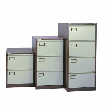 Jemini Coffee/Cream 4 Drawer Filing Cabinet KF03002 [KF03002]