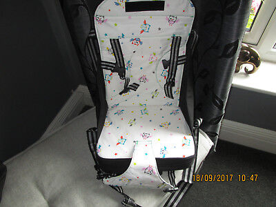 VENTURE Travel Booster Seat High Chair Highchair With 5 Point Harness