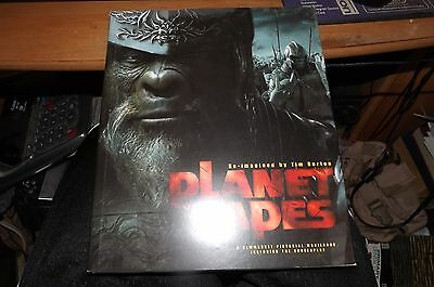 BOOK : Planet of the Apes by Mark Salisbury (2001, Hardcover)