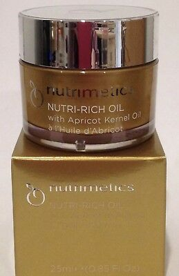 NUTRIMETICS NUTRI-RICH OIL 1 X 25ML Brand New In Box Save $$ FREE POST