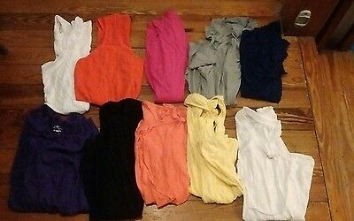 Lot of 10 Gap and Old Navy Tanks size xl